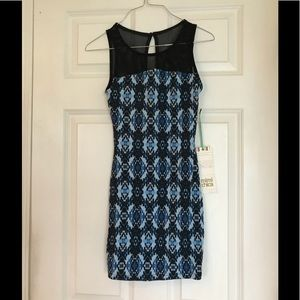 Fitted Dress New with Tags XS Cotton Spandex